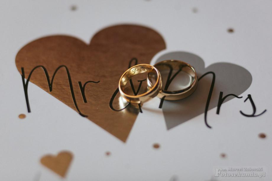 zdjęcia ślubne - obrączki
